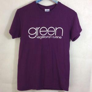 Gildan Shirts - Vegetarians are Better Lovers Plum tee shirt S